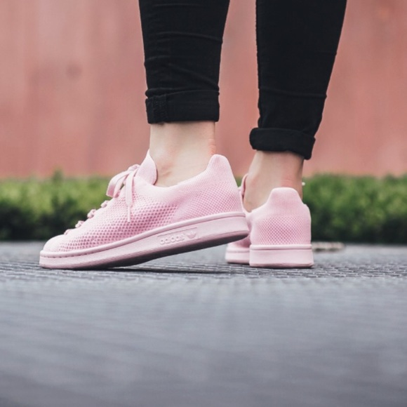 adidas stan smith primeknit pink